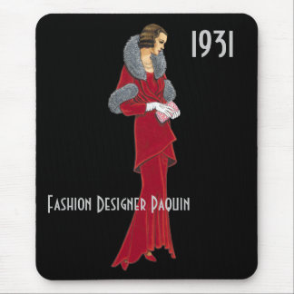 Fashion Designer Mousepad