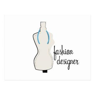 Fashion Designer Postcards