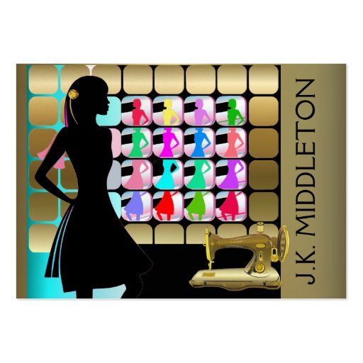 Fashion / Designer / Seamstress - SRF Business Card Templates