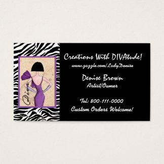 Fashion Diva Business Cards