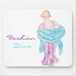 Fashion Diva mouse pad
