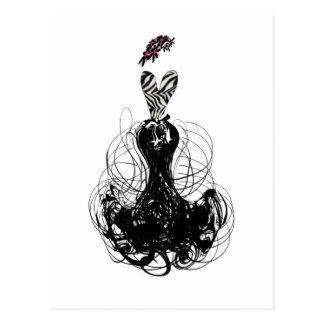 Fashion Diva Postcard