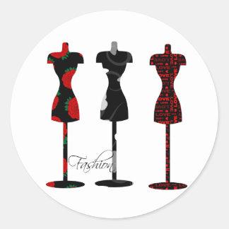 Fashion Dress Forms Sticker