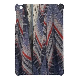 Fashion Fabric texture background diy add text img iPad Mini Case