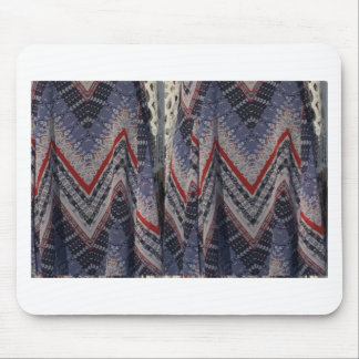 Fashion Fabric texture background diy add text img Mouse Pad