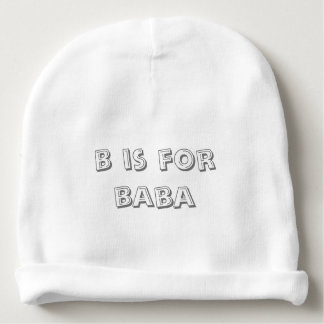 Fashion for formula fed babies! baby beanie