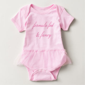 Fashion for formula fed babies! baby bodysuit