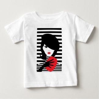 Fashion french stylish fashion illustration baby T-Shirt