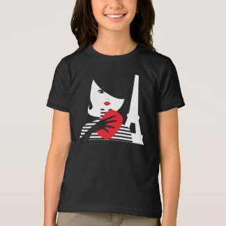 Fashion french stylish fashion illustration T-Shirt