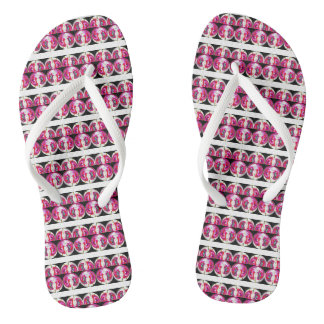 Fashion fun flip flops