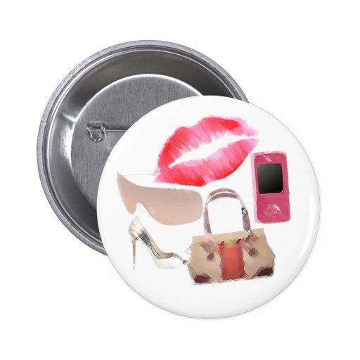 Fashion Girl button