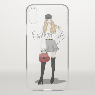 Fashion Girl iPhone X Case
