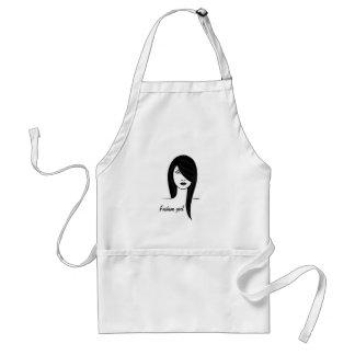 Fashion girl standard apron