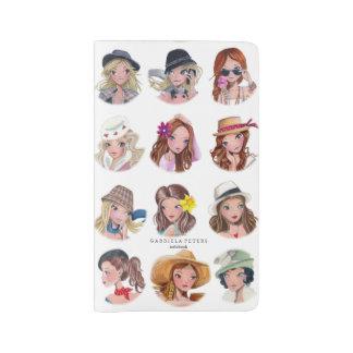 Fashion Girls by Cartita Design   Notebook Cover