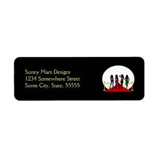 Fashion Girls Red Carpet Custom Black Labels