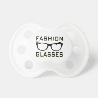 Fashion Glasses Baby Pacifier