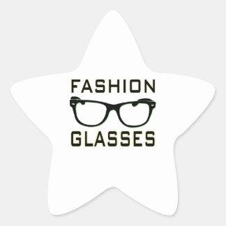 Fashion Glasses Star Stickers