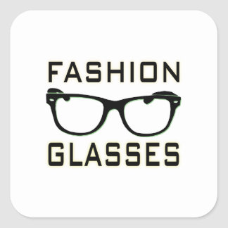 Fashion Glasses Sticker
