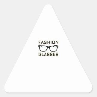 Fashion Glasses Triangle Stickers