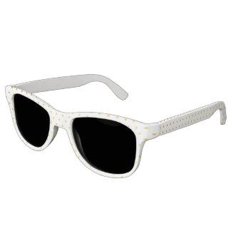 Fashion gold polka dots sunglasses