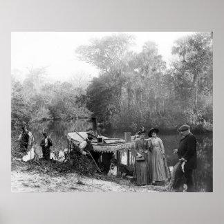 Fashion Hunt: 1880 Poster