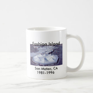 Fashion Island , San Mateo, CA. 1981-1996 Coffee Mug
