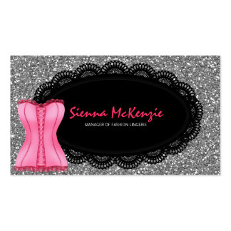 Fashion Lingerie Business Cards