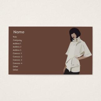 Fashion Merchandiser - Business Business Card
