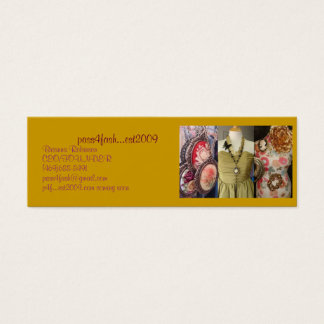 Fashion Mini Business Card