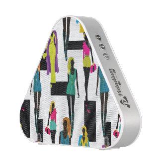 Fashion modern stylish trendy illustration patte speaker