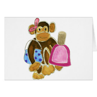 Fashion Monkey Nail Polish Card