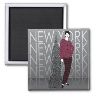 Fashion New York Magnet