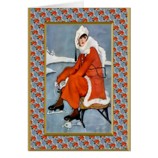 Fashion on the slopes card