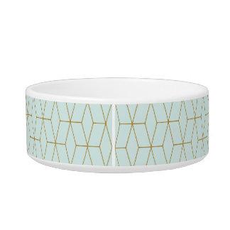 Fashion Pattern Ceramic Dog Bowl