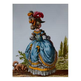 Fashion Plate 18th Century~ Postcard / Invitations