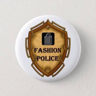 Fashion Police 2 Inch Round Button
