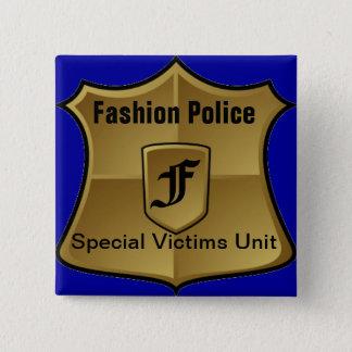 Fashion Police: Special Victims Unit 2 Inch Square Button