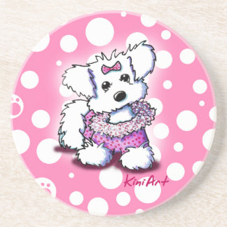 Fashion Princess Maltese Coaster