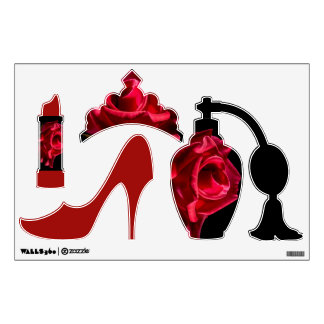 Fashion Rose Wall Decal