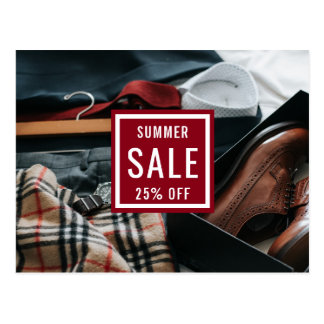 Fashion Sale Announcement   Direct Mail Marketing Postcard
