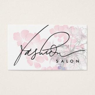 Fashion Salon Designer Beauty Fragrance Card