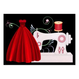 Fashion / Seamstress Card - SRF Large Business Card