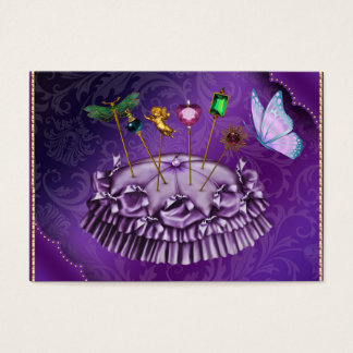 Fashion / Seamstress / Designer - SRF Business Card