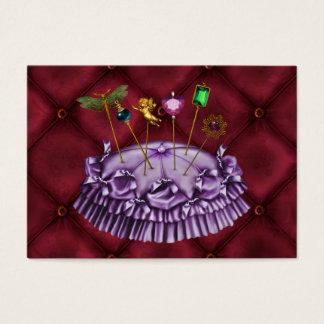 Fashion / Seamstress / Upholstery - SRF Business Card