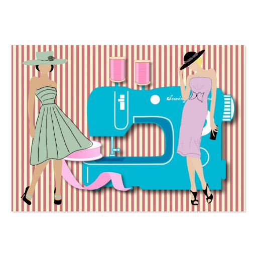 Fashion / Sewing Card Business Card Template