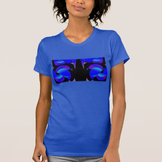 Fashion Shirt 4 Her on Blue/Black/Lavender