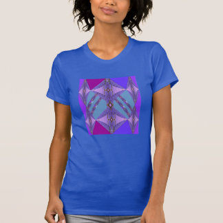 Fashion Shirt-Women-Cranberry/Blue/Purple T-Shirt