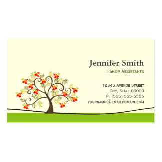Fashion Shop Assistants - Appointment Business Card