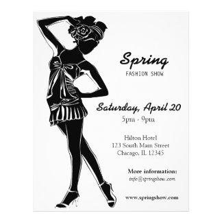 Fashion Show (Black) Full Colour Flyer