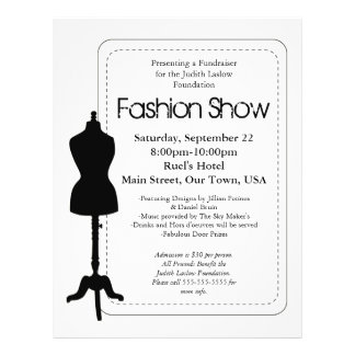 Fashion Show Full Color Flyer